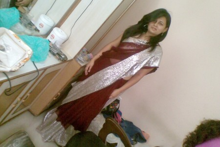 Sequin Saree