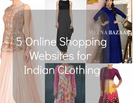 5 Online Shopping Websites for Indian Clothes