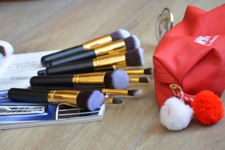 make up brush set review