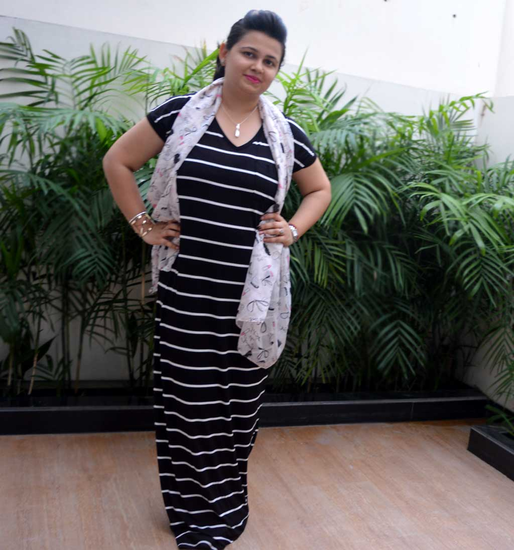 How to style Maxi Dress Casual Way