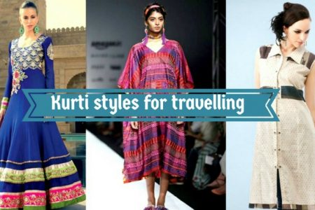 kurti style for travel goals
