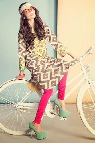 Kurti Styles for travel