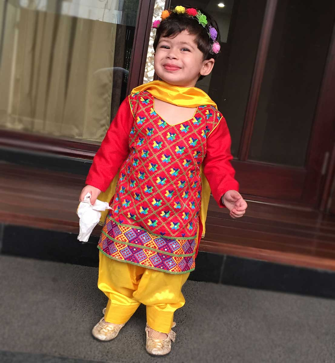 saanvi in salwar suit