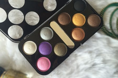 xibei eyeshadow palette review